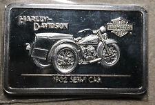 1932 Servi Car Harley Davidson .999 Silver Art Bar