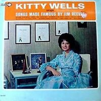 KITTY WELLS - SINGS SONGS MADE FAMOUS BY JIM REEVES - DECCA LP - SHRINK