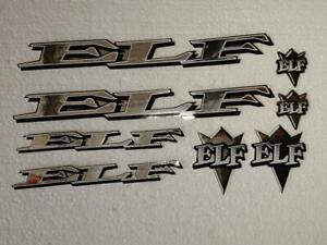 ELF BMX Decal sets - Chrome die-cut