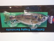 Morone Swimbait Giz Thread Hard Tail Gizzard Shad Threadfin Swimbaits bass Lure