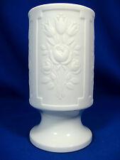 Beautiful / Schöne 70´s design Heinrich & Co. relief porcelain vase Blumen 1919