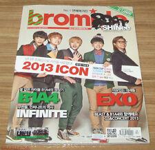 BROMIDE EXO B1A4 INFINITE SHINee BEAST VIXX K-POP MAGAZINE 2013 DEC DECEMBER NEW