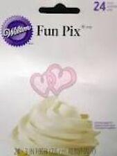 Wilton Fun Pix - Pink Sweethearts 24ct