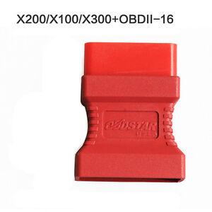 OBDII-16 Adaptor for X100+ X200 X300 PRO OBDSTAR Xtool Scanner OBD2 Connector