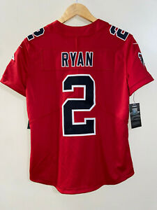 Nike Atlanta Falcons Matt Ryan #2 Red Vapor Womens Jersey Size M $150 818983-658