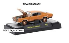 TF3  L127 32600 39 M2 MACHINES DETROIT MUSCLE 1969 Plymouth Cuda 440 BRONZE 1:64