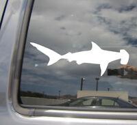 Hammerhead Shark - Predator Car Laptop Bumper Window Vinyl Decal Sticker 01509