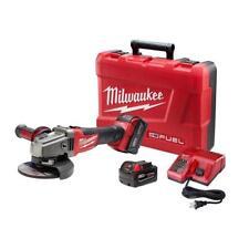 "Milwaukee 2781-22 M18 FUEL Li-Ion Brushless 4-1/2""/5"" Grinder W/2-5Ah Batteries"