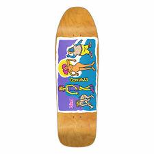 Blind Re-Issue Skateboard Deck Screen Printed Gonz Colored People Orange
