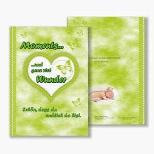 Babytagebuch, DIN A4, 48 süße bunte Seiten zum Beschriften, Hardcover