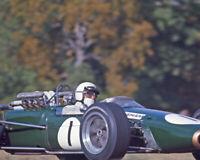 1967 Driver JACK BRABHAM Glossy 8x10 Photo Formula 1 US Grand Prix Poster Print