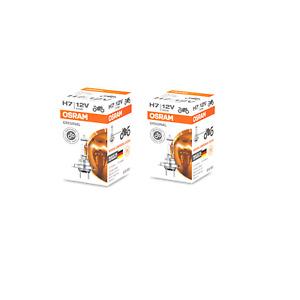 QTY 2! OSRAM Sylvania ORIGINAL H7 halogen headlamp bulb 64210 55W OEM Germany