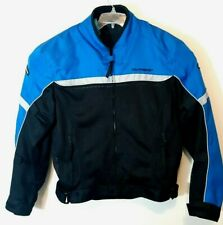 TourMaster Draft Air 2.0 Textile Motorcycle Jacket Black Blue Men's Size XL 38