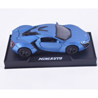 Laiken 1:32 Alloy Diecast Model Cars Collection Gifts Sound&Light Blue Hot Toys