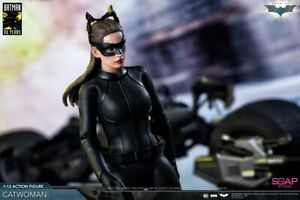 "Soap Studio FG011 THE DARK KNIGHT BATMAN ""80 years"" Catwoman 1/12 Action Figure"