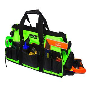 Work Gear Uk 35 Pocket Double Tray Tote Tool Bag WG-TX05