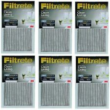 "(6) pack 3M 301Dc-6 16"" x 25"" x 1"" Gray Dust Reduction Filtrete Furnace Filters"