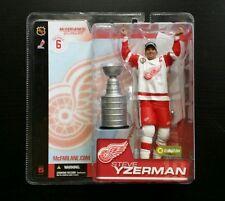 McFarlane NHL Series 6 STEVE YZERMAN Red Wings Stanley Cup Figure