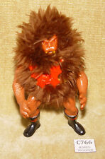 MASTERS OF THE UNIVERSE GRIZZLOR ACTION FIGURE WITH HARNESS MATTEL 1985 W4 MOTU