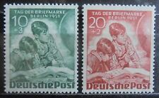 GERMANY (Berlin) 1951 Stamp Day, Set of 2 m/h