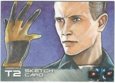 Terminator 2 Judgment Day Sketch Card drawn by Mohammad Jilani