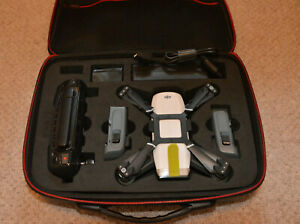 DJI Spark drone, white, fly more combo, good condition