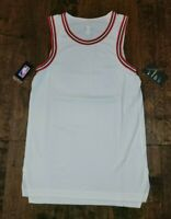New Nike Chicago Bulls Aeroswift Jersey AH8791-100 Blank Jordan Mens Small Sz 40