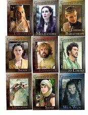 Game of Thrones season 5  base set + wrapper+ Promo P1