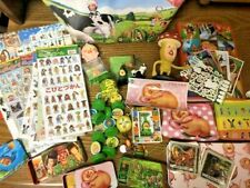 kobito dukan stickers,figure, bag LOT  from japan DHLship