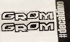 x2 Grom Decals - Replacement for Honda Sticker MSX Kit Factory Graphic oem kit