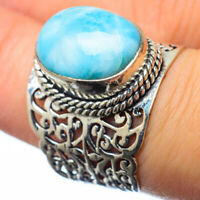 Larimar 925 Sterling Silver Ring Size 7 Ana Co Jewelry R28781F