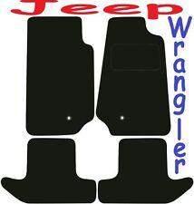JEEP WRANGLER 2DR Deluxe qualità su misura tappetini 2007 2008 2009 2010 2011 2012 201