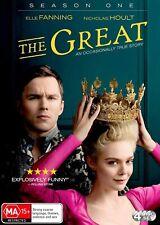 The Great Season 1 One DVD Region 4 Elle Fanning Nicholas Hoult