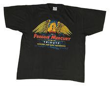 More details for 1992 queen freddie mercury tribute convert t-shirt vintage size xl