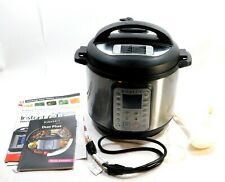 Instant Pot Duo Plus 60 9-in-1 6Qt  Multi-Use Programmable Pressure Cooker
