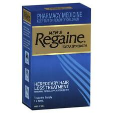 Regaine for Men Extra Strength (5%) 60ml (1 month supply) - Hair Loss Treatment
