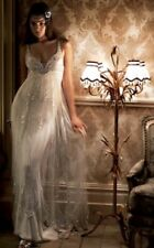 jenny packham papillon butterfly ivory wedding dress uk size 8