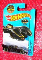 2015 Hot Wheels  Batmobile  #62  HW City   CFJ50-09B1F F case