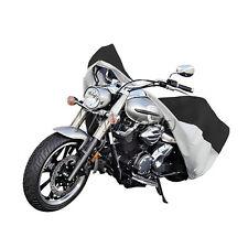 Silver Motorcycle Storage Cover For Kawasaki Vulcan VN 800 900 1500 1600 2000