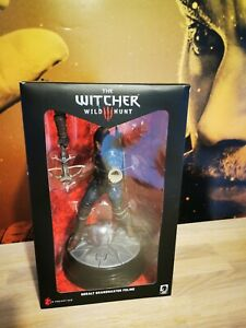 Witcher 3 Wild Hunt Geralt Grandmaster Feline Action Figure Statue New Unused.