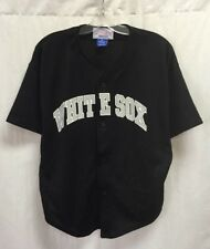 Vintage Chicago White Sox Frank Thomas Starter MLB Jersey Black Youth Size XL