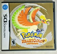 Pokemon: HeartGold Version (Nintendo DS NDS, 2010) COMPLETE Authentic Tested!