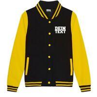 Lady College Jacke mit Wunschdruck viele Farben Partnerlook Jacken JH043F0.3