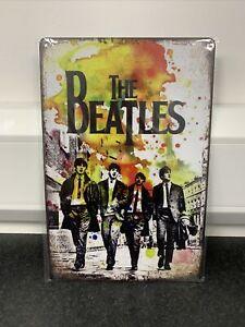 The Beatles Metal Plaque Sign 20x30cm 8x12 Inch Man Cave Bar/Pub BRAND NEW UK