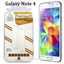 Samsung Galaxy Note 4 Gorilla Tech Tempered Glass Screen Protector Cover Shield