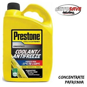 Prestone Concentrated Universal Anti Freeze Coolant Mixes With Any Antifreeze 4L