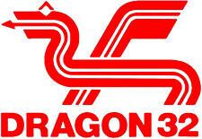Retro Computing Dragon 32 Vinyl Decal Sticker Car Van Laptop