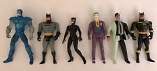 Lot Vintage Kenner DC Comics Batman Joker Villans Action Figures Catwoman 1990's
