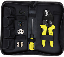 Paron JX-D4 Cable Wire Terminal Crimper Plier Kit Ratcheting Crimping Tool Set