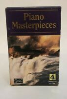 Piano Masterpieces Classical Heritage 4 Cassettes Mozart Beethoven And More